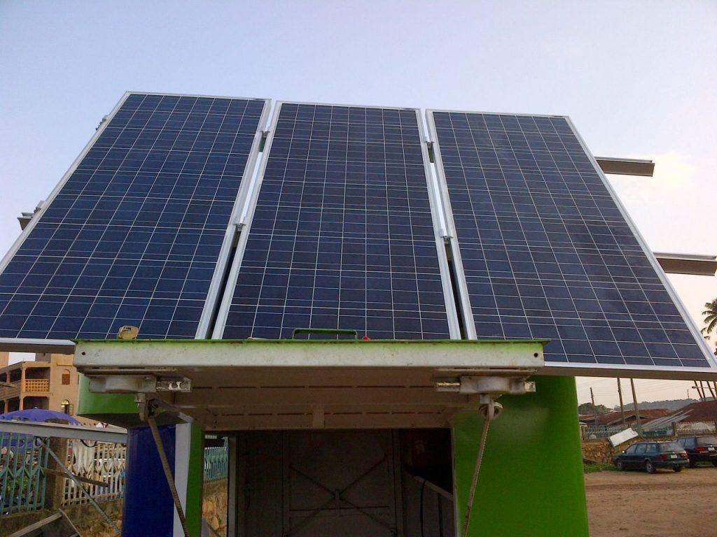 Solar Powered VSAT Kiosk