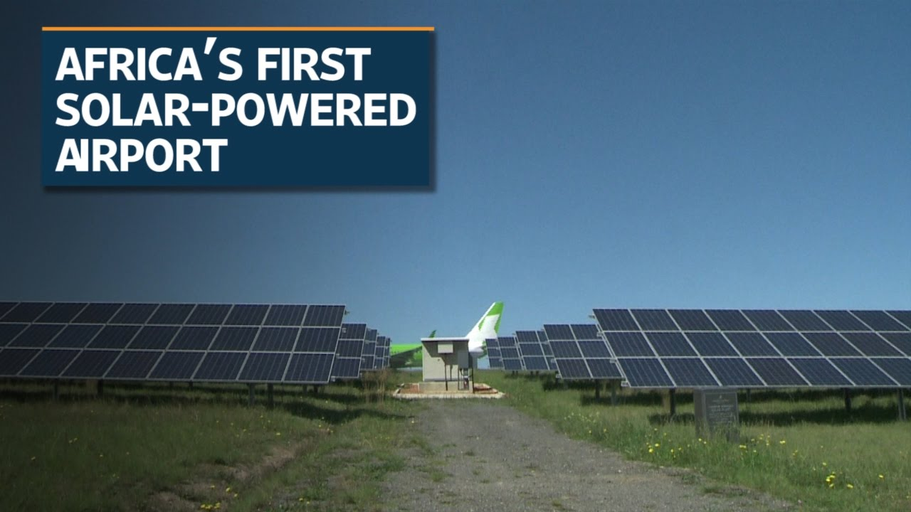 african solar powered airport