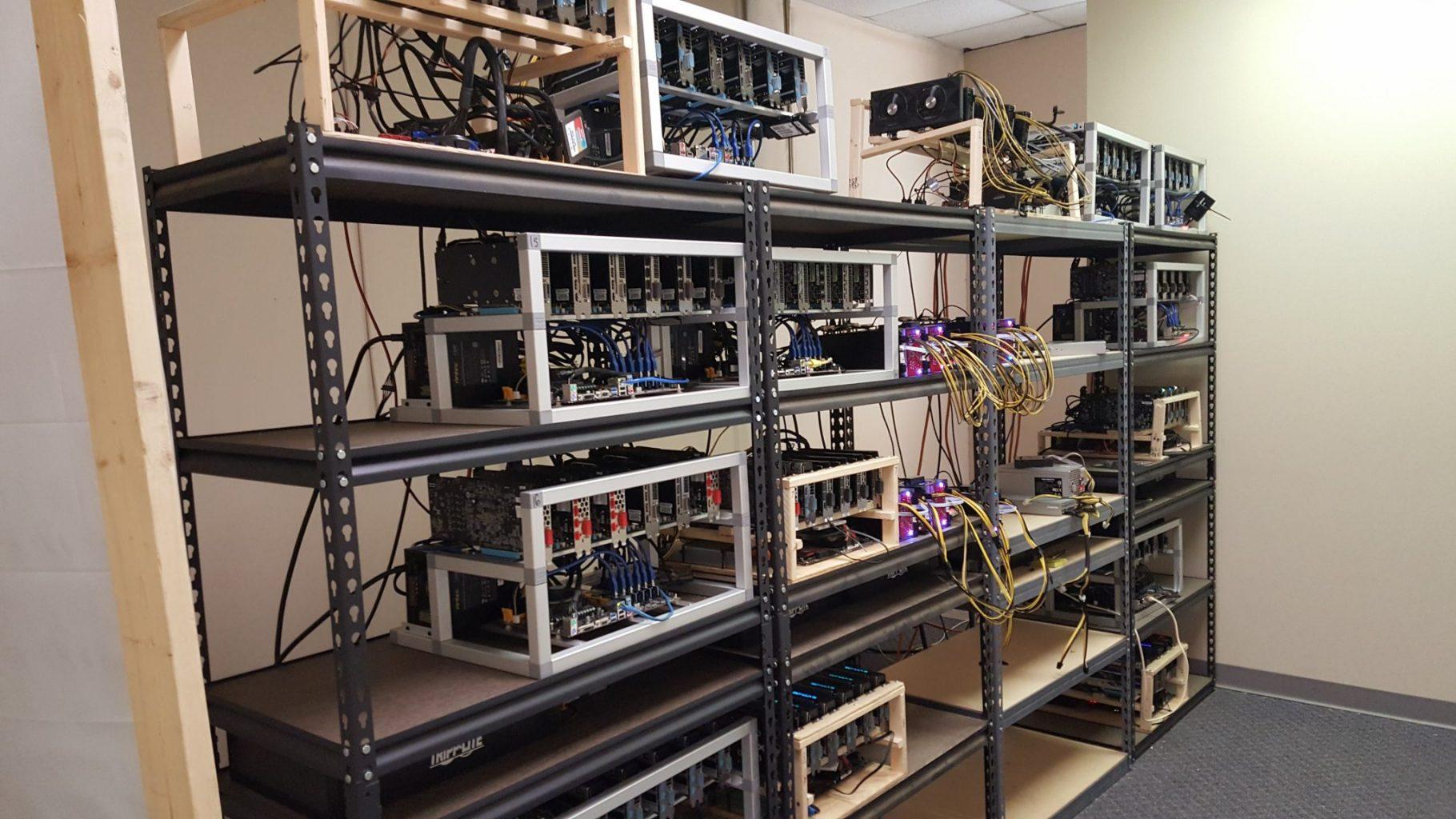 Solar Powered Bitcoin Mining
