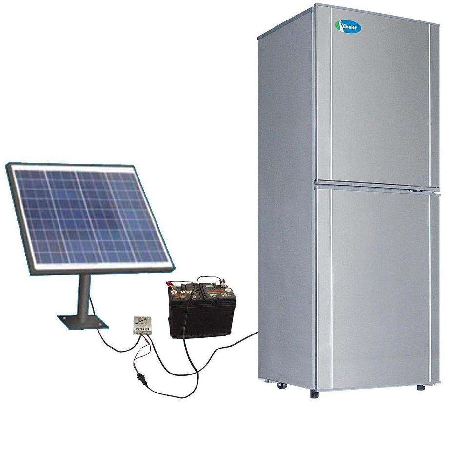Solar-powered fridges