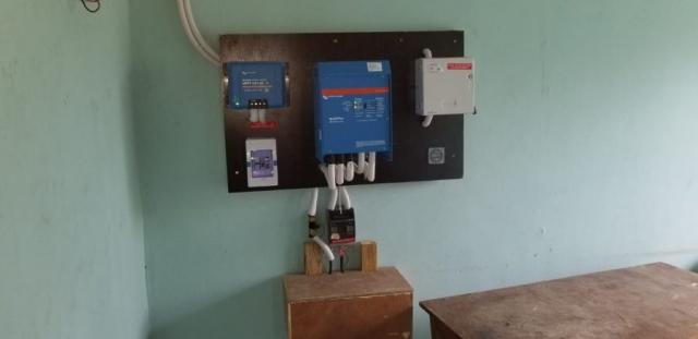 Lg Chem lithium ion, Victron Energy BV Multiplus, Jos solar power