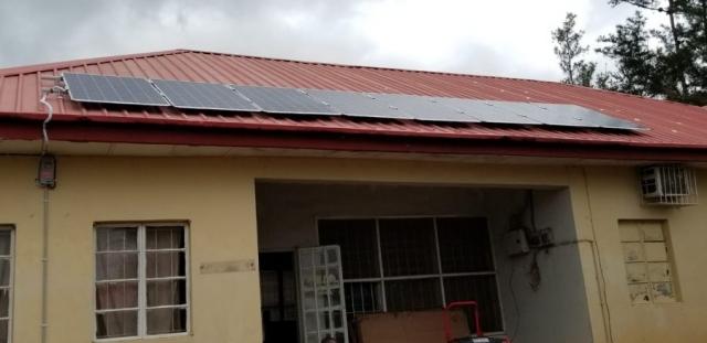 Almaden glass solar panels
